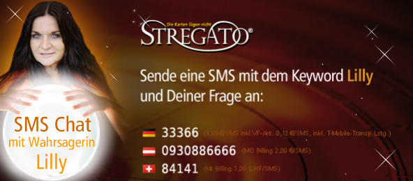 Kartenlegen, Hellsehen, und Wahrsagen per SMS Chat