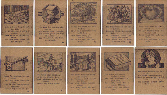 Lenormandkarten Alfred Knesebeck