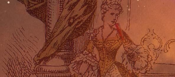 Uralte antike Lenormandkarten Sammlung