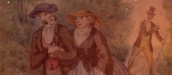 Sammlung historischer Aufschlag-, und Zigeunerkarten