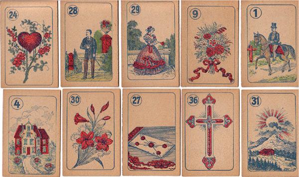 Lenormandkarten Belgien