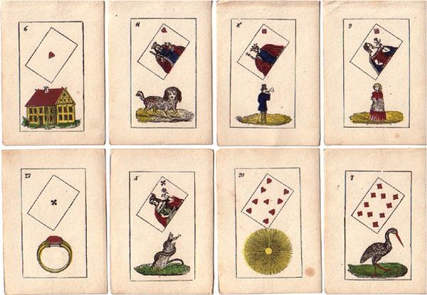 Lenormandkarten Büreau