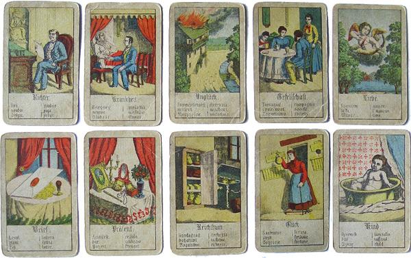 Wahrsagekarten von Hendl Wien