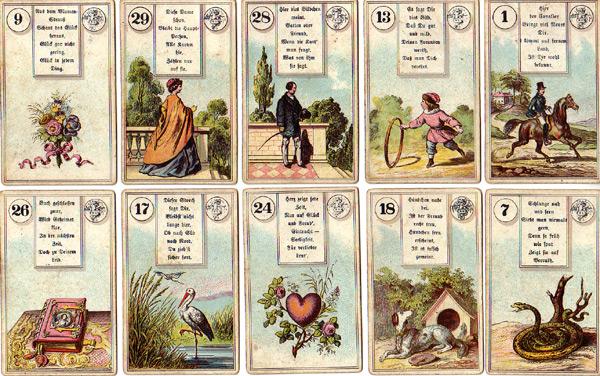 Lenormandkarten Dondorf