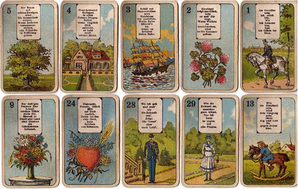 Lenormandkarten Stralsund