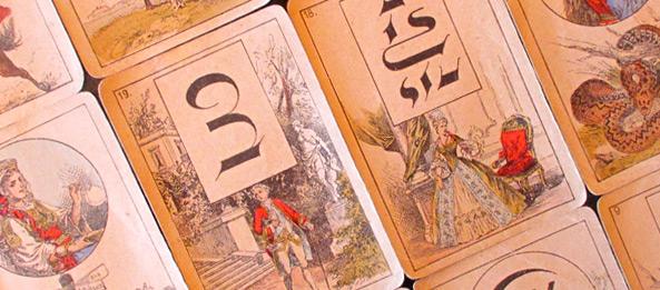 Lenormandkarten – Der Herr 28 / Die Dame 29: Deutung, Bedeutung, Kombinationen