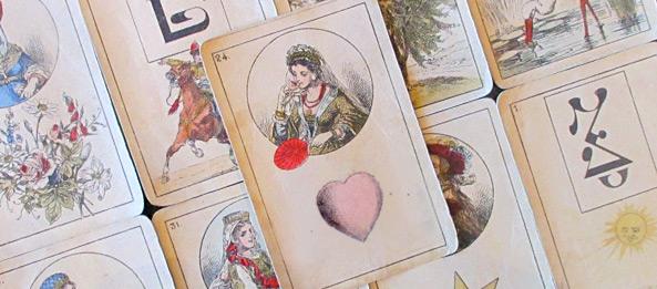 Lenormandkarte – Das Herz 24: Deutung, Bedeutung, Kombinationen