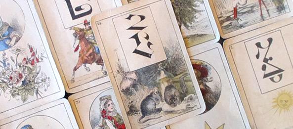 Lenormandkarte – Die Mäuse 23: Deutung, Bedeutung, Kombinationen