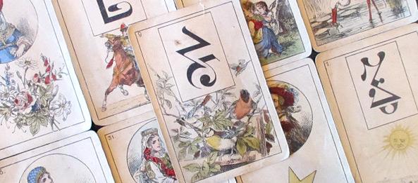 Lenormandkarte – Die Vögel 12: Deutung, Bedeutung, Kombinationen