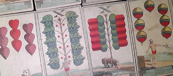 Bedeutungen der Schafkopfkarten beim Kartenlegen und Wahrsagen