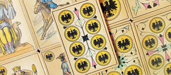 Tarot Tageskarte – 8 der Münzen