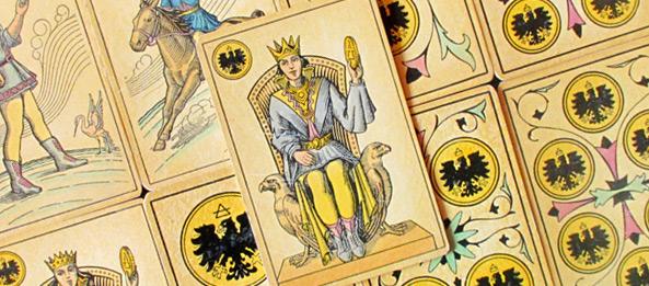 Tarot Tageskarte König Der Münzen