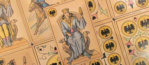 Tarot Tageskarte Königin Der Münzen