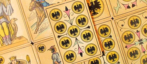 Tarot Tageskarte – 9 der Münzen
