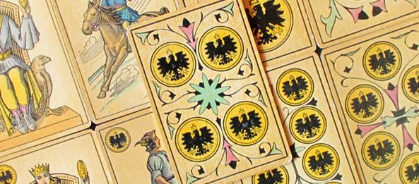 Tarot Tageskarte – 4 der Münzen
