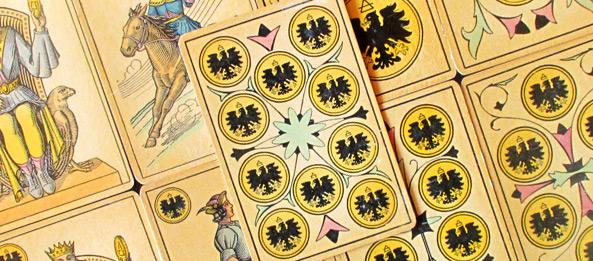 Tarot Tageskarte 10 Der Münzen