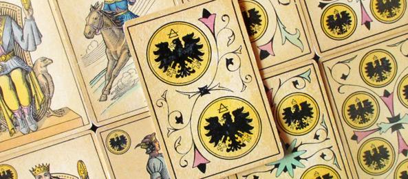 Tarot Tageskarte 2 Der Münzen