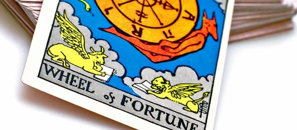 Tarotkarte – Das Schicksalsrad