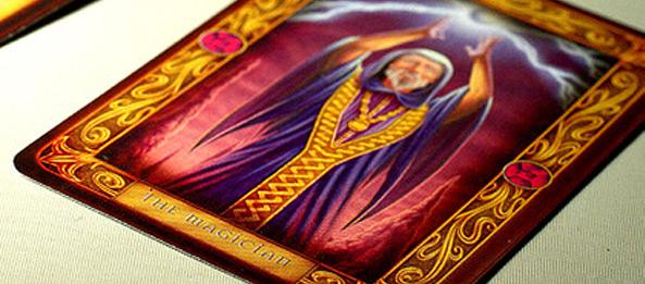 Tarotkarte – Der Magier