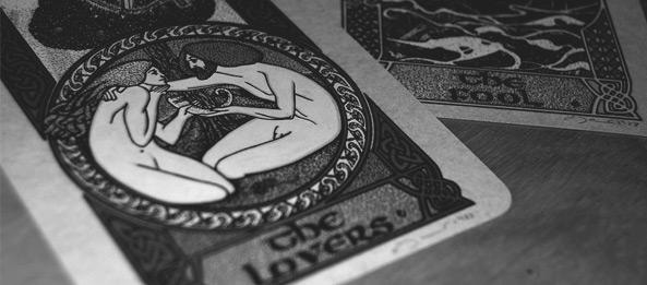 Tarotkarte – Die Liebenden
