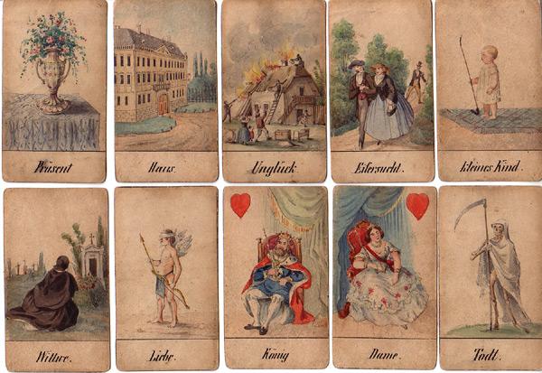 Wiener Aufschlagkarten
