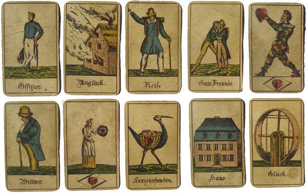 Antike Wahrsage Karten