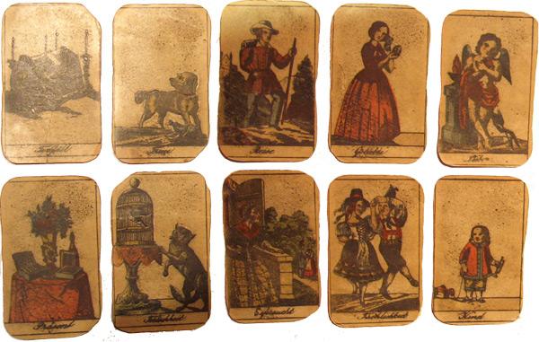 Zigeunerkarten uralt