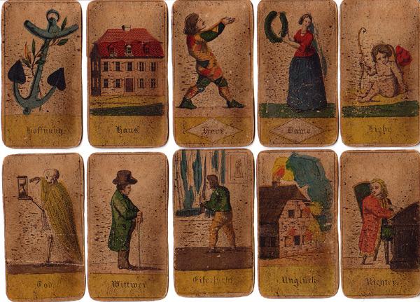 Wahrsagekarten antik