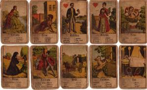 Aufschlagkarten Zigeunerkarten