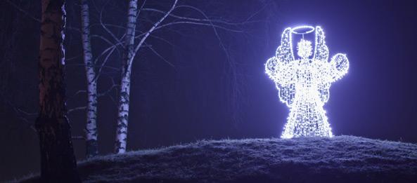 Über Engel und Engel in der Weihnachtszeit