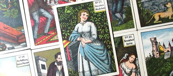 Kipperkarten – No. 12 Reiches Mädchen: Deutung, Bedeutung, Kombinationen