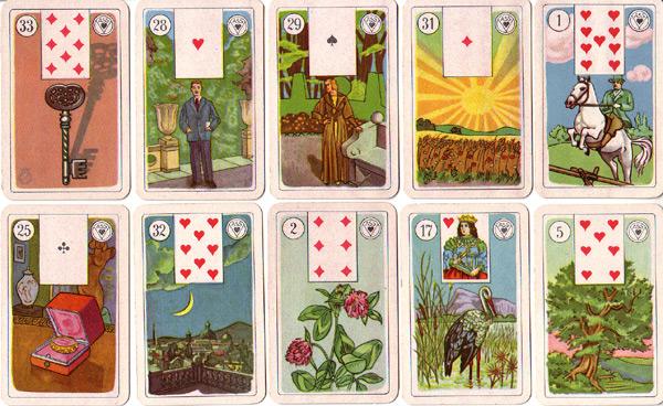Lenormandkarten aus Altenburg