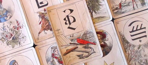 Lenormandkarte – Der Anker 35: Deutung, Bedeutung, Kombinationen