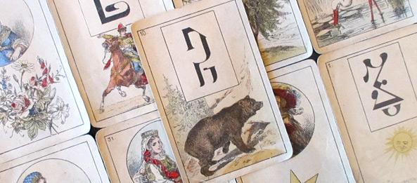 Lenormandkarte – Der Bär 15: Deutung, Bedeutung, Kombinationen