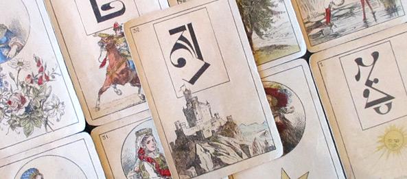 Lenormandkarte – Der Berg 21: Deutung, Bedeutung, Kombinationen