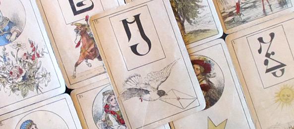 Lenormandkarte – Der Brief 27: Deutung, Bedeutung, Kombinationen