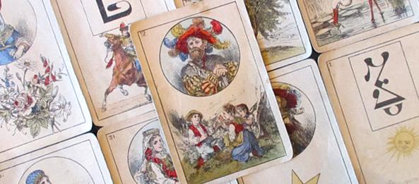 Lenormandkarte – Das Kind: 13 Deutung, Bedeutung, Kombinationen