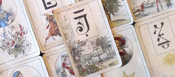 Lenormandkarte – Der Park 20: Deutung, Bedeutung, Kombinationen