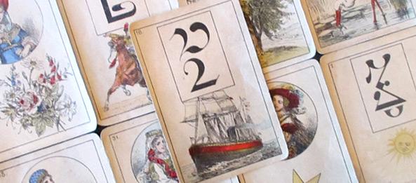 Lenormandkarte – Das Schiff 3: Deutung, Bedeutung, Kombinationen
