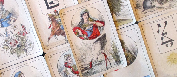 Lenormandkarte – Die Störche 17: Deutung, Bedeutung, Kombinationen