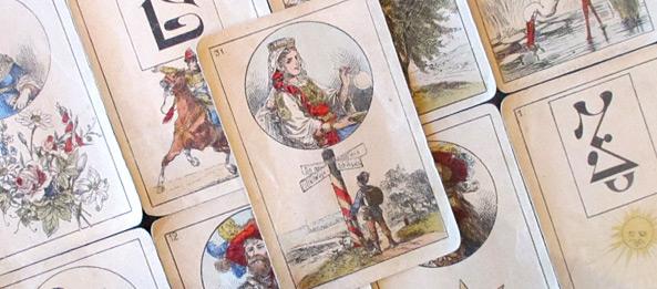Lenormandkarte – Die Wege 22: Deutung, Bedeutung, Kombinationen