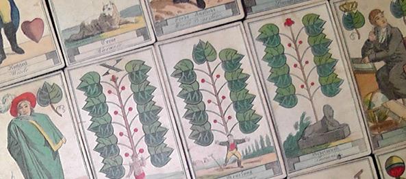 Grün – Bedeutung u. Kombinationen beim Schafkopf Kartenlegen
