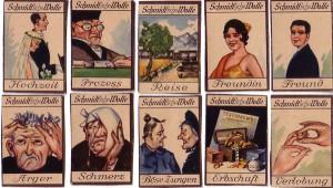 Schmidtsche Wolle Wahrsagekarten