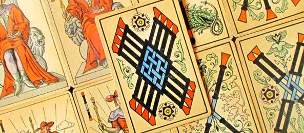 Tarot Tageskarte – 8 der Stäbe
