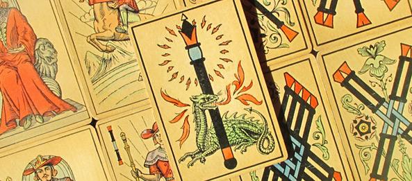 Tarot Tageskarte – As der Stäbe