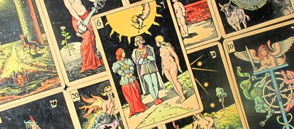 Tarot Tageskarte – Die Liebenden