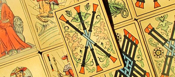 Tarot Tageskarte – 3 der Stäbe