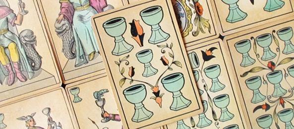 Tarot Tageskarte – 5 der Kelche