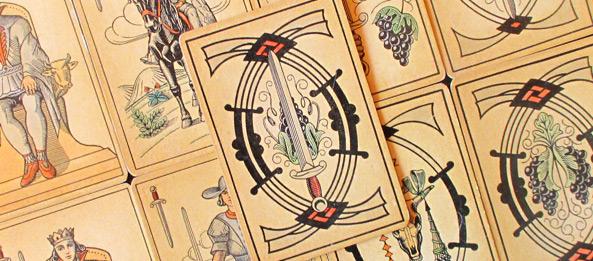 Tarot Tageskarte – 5 der Schwerter