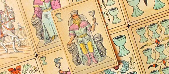 Tarot Tageskarte – König der Kelche
